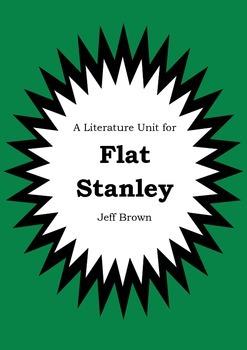 Literature Unit - FLAT STANLEY - Jeff Brown - Novel Study - Worksheets
