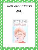 Literature Unit: Freckle Juice