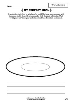 Literature Unit - HATCHET - Gary Paulsen - Novel Study - Worksheets