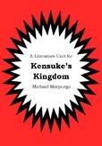 Literature Unit - KENSUKE'S KINGDOM - Michael Morpurgo - Novel Study Worksheets