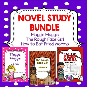 Novel Study Bundle Grades 2-4