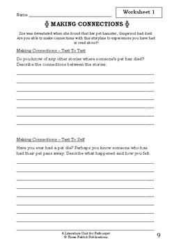 Literature Unit - RATBURGER - David Walliams - Novel Study - Worksheets