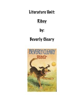 Literature Unit: Ribsy