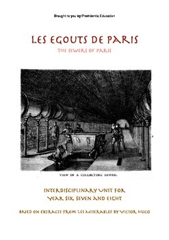 Literature Unit - Sewers of Paris