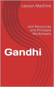 Literature Unit Study Guide for Gandhi, by Demi