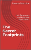 Literature Unit Study Guide for The Secret Footprints, by