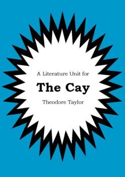 Literature Unit - THE CAY - Theodore Taylor - Novel Study