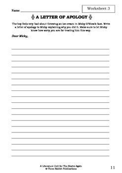 Literature Unit - THE GIZMO AGAIN - Paul Jennings - Novel Study Worksheets