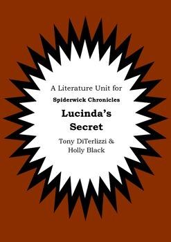 Literature Unit - THE SPIDERWICK CHRONICLES - LUCINDA'S SE