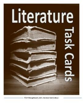 Literature Unit Task Cards