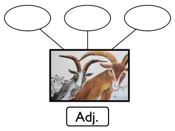 Literature Unit: The 3 Billy Goats Gruff with Workbook