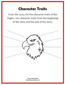 Literature Unit: The Eagles Who Thought They Were Chickens by Mychal Wynn