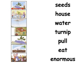 "Literature Unit: ""The Enormous Turnip"" with Workbook"
