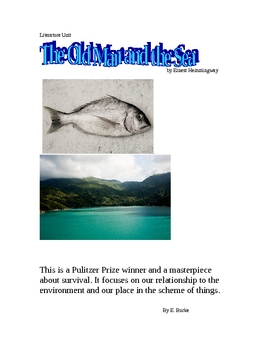 Literature Unit-The Old Man and the SEA.