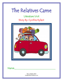 Literature Unit: 'The Relatives Came' by Cynthia Rylant