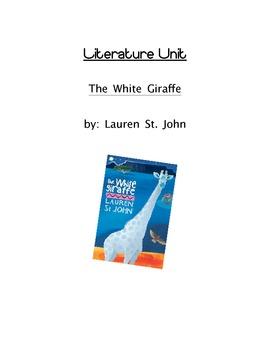 Literature Unit: The White Giraffe