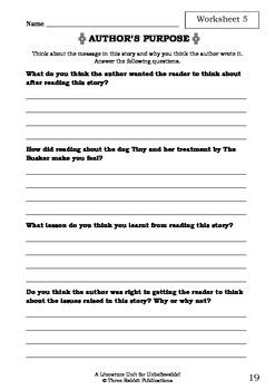 Literature Unit - UNBELIEVABLE! - Paul Jennings - Novel Study - Worksheets
