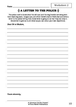 Literature Unit - UNSEEN! - Paul Jennings - Novel Study - Worksheets