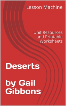 Literature Unit for Deserts by Gail Gibbons