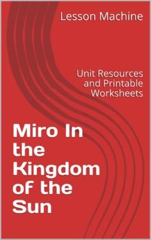 Literature Unit for Miro In the Kingdom of the Sun by Jane Kurtz