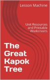 Literature Unit for The Great Kapok Tree by Lynne Cherry
