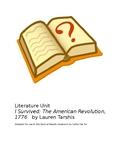 "Literature Unit to Accompany ""I Survived: The Revolutionar"