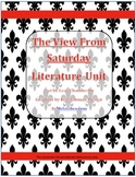 Literature Unit/Novel Study Packet for The View From Saturday by E.L. Konigsburg