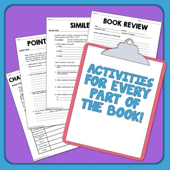 Guided Reading Comprehension Graphic Organizers for Any Book! Set 2