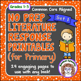 Reading Response Printables: 24 Ready to Use Pages for Any Book (Primary)