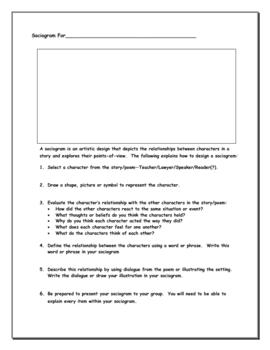 Literature Worksheets & Graphic Organizers