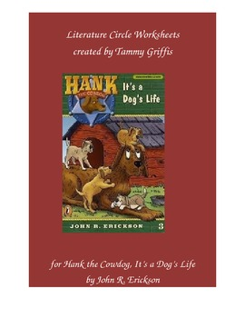 Literature Worksheets (Hank the Cowdog It's a Dog's Life)