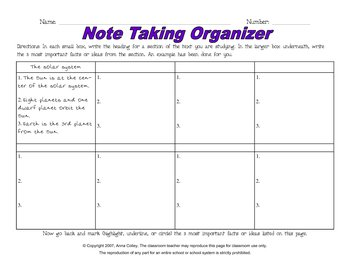 Literature / Writing Graphic Organizer Package