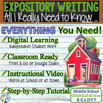 All I Really Need to Know, I Learned in Kindergarten - Text Dependent Expository