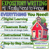 All I Really Need to Know, I Learned in Kindergarten - Expository Writing Prompt