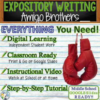 Amigo Brothers - Expository Writing Prompt Essay Text ...