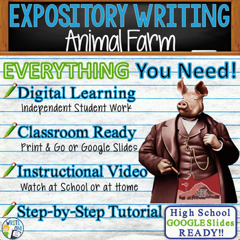 Animal Farm by George Orwell - Text Dependent Analysis Exp
