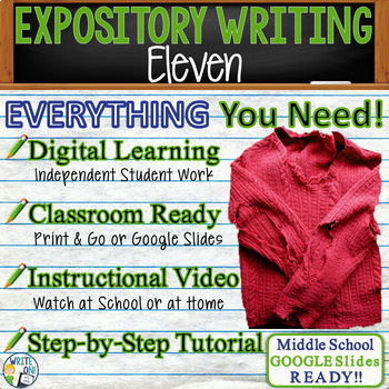 Eleven by Sandra Cisneros - Text Dependent Analysis Expository Writing Prompt