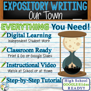Our Town by Thornton Wilder - Text Dependent Analysis Expository Writing