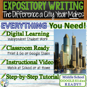 The Difference a City Year Makes - Text Dependent Analysis Expository Writing