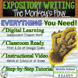 The Monkey's Paw - Expository Writing Prompt Essay Text Dependent Analysis TDA