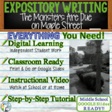 The Monsters are Due on Maple Street Prompt 2 - Text Analysis Expository Writing
