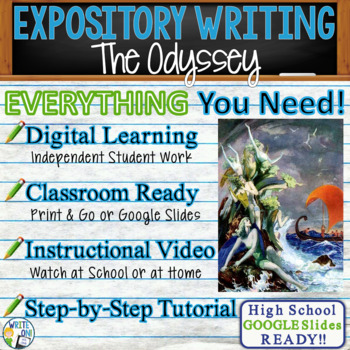 The Odyssey by Homer - Text Dependent Analysis Expository Writing