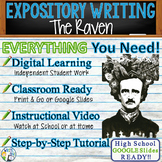 The Raven by Edgar Allan Poe - Text Dependent Analysis Expository Writing