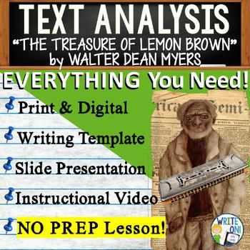 The Treasure of Lemon Brown - Text Dependent Analysis ...