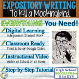 To Kill a Mockingbird by Harper Lee - Text Dependent Analysis Expository Writing