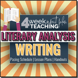 Literature: Writing a Literary Essay Pack