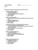 Literature: _The Glass Menagerie_ Bundled Quizzes (2)