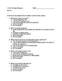Literature: _The Glass Menagerie_ Quiz #2