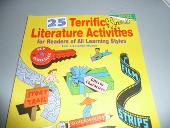 Literature activities to use for readers of all learning styles