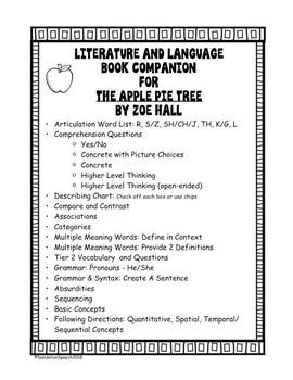 The Apple Pie Tree Book Companion: Literature and Language